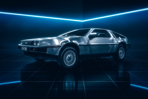 DeLorean DMC 12 5k