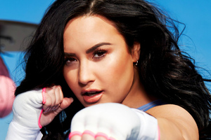 Demi Lovato Fabletics 2020 Wallpaper