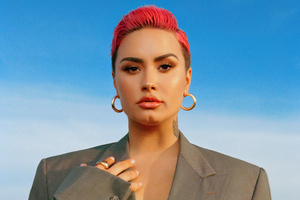 Demi Lovato Glamour Magazine March 2021 Wallpaper