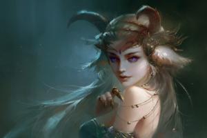 Demon Beautiful Girl Wallpaper