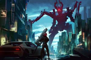 Demon Feel Alive 4k Wallpaper