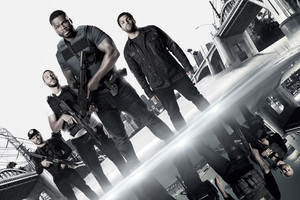 Den Of Thieves 50 Cent OShea Jackson Jr Pablo Schreiber 2018 Movie 4k