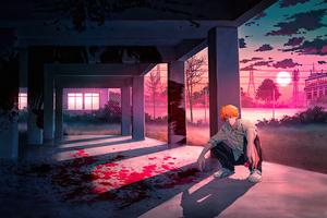 Denji Chainsaw Man Anime Boy 4k Wallpaper