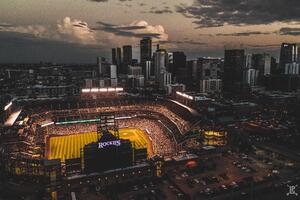 Denver City In Colorado Wallpaper