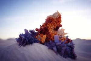 Desert Crystal Digital Art Wallpaper
