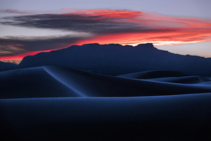Desert Dune Landscape Nature Sand Sunset 4k Wallpaper