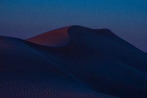 Desert Hills Dusk Sand Dunes 8k Wallpaper