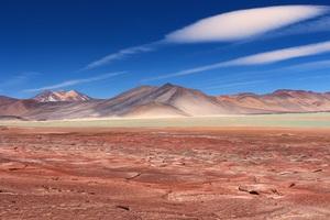 Desert Landscape Sky Mountain Travel Nature