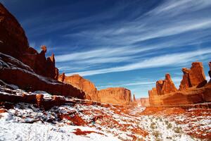 Desert Mountain Mesa Cliff 5k Wallpaper