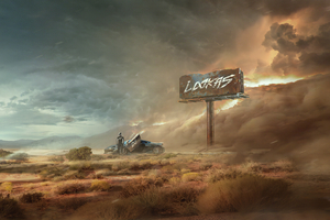 Desert Storm 4k Wallpaper