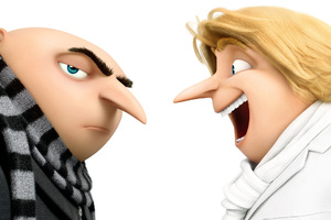 Despicable Me 3 Gru And Dru Wallpaper