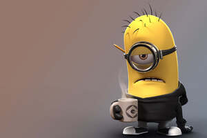 Despicable Me Angry Minion