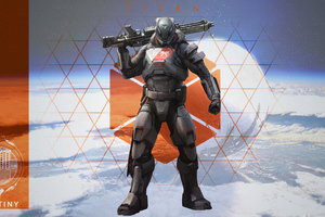 Destiny 2 Titan 4k