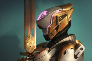 Destiny Titan Art