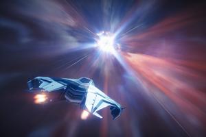 Destiny Video Game Spaceship