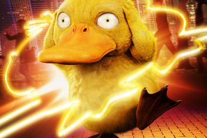 Detective Pikachu Koda Duck Wallpaper