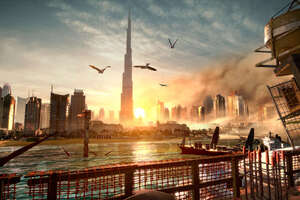 Deus Ex Mankind Divided Dubai Wallpaper