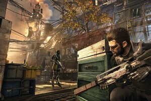 Deus Ex Mankind Divided Game Art