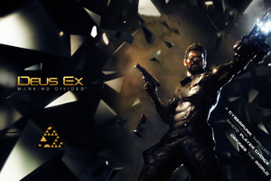 Deus Ex Mankind Divided Games Wallpaper
