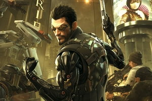 Deus EX Mankind Game Wallpaper