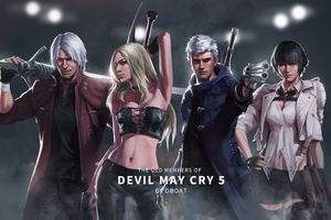 Devil May Cry 5 Old Members 8k