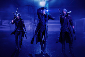 Devil May Cry The Family Is Back 4k
