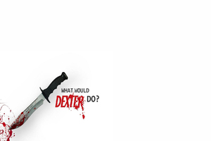 Dexter Typography Wallpaper
