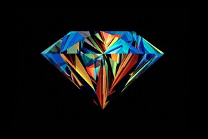 Diamond Abstract Wallpaper