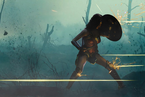 Diana In War 4k