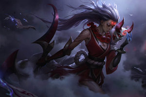Diana League Of Legends Art