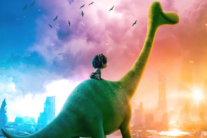 Dino In 2047 The Good Dinosaur 4k Wallpaper