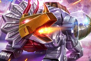 Dinobots Transformers Art 5k Wallpaper