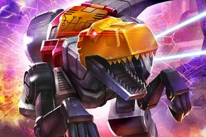 Dinobots Transformers Art