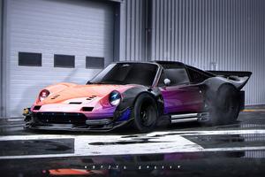 Dinolow Car Digital Art 4k Wallpaper