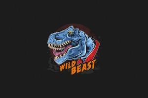 Dinosaur Wild Beast 4k