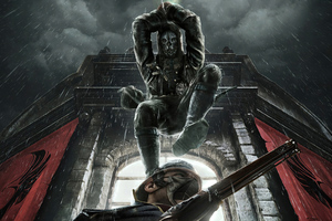 Dishonored Death From Above Wallpaper