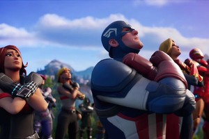 Disney Marvel Chadwick Boseman Tribute Fortnite Wallpaper