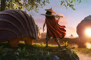 Disney Raya And The Last Dragon 2021 Wallpaper