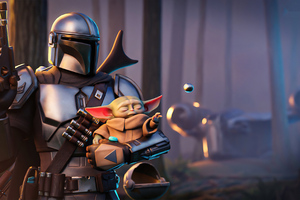 Disney The Mandalorian Fortnite 4k