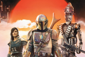 Disney The Mandalorian Tv Series 2020 Wallpaper