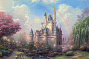 Disneyland Park Art Wallpaper