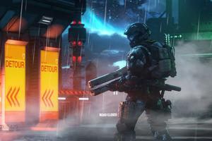 Disorder Halo Game 4k Wallpaper