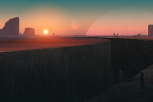Divided Distance 4k Wallpaper