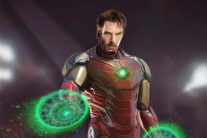 Doctor Strange As Ironman
