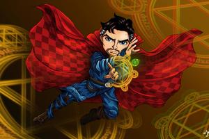 Doctor Strange Fan Artwork 4k