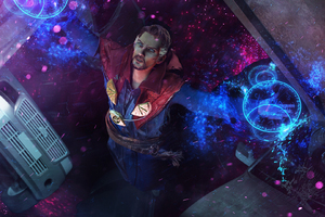 Doctor Strange Fan Artwork Wallpaper