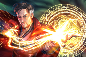 Doctor Strange Fan Made Artwork Wallpaper
