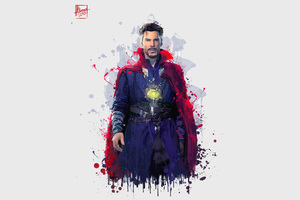 Doctor Strange In Avengers Infinity War 2018 4k Artwork