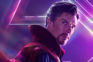 Doctor Strange In Avengers Infinity War New Poster