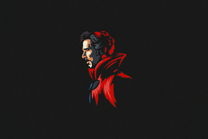 Doctor Strange Minimal 5k Wallpaper